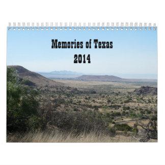 Memories of Texas-Photography Calendar