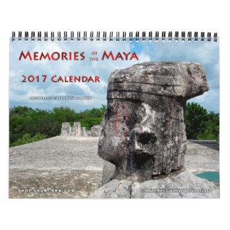 Memories of the Maya Wall Calendar