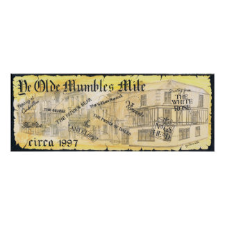 Memories of the Mumbles Mile Poster