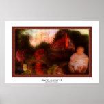 memories on a Postcard | Wooden Framed [Mock] Poster