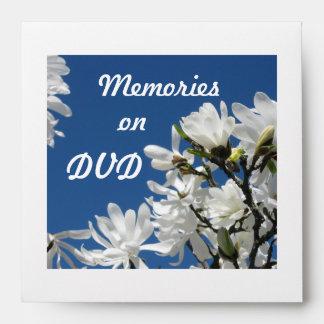Memories on DVD Envelope