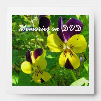 Memories on DVD Square Envelope