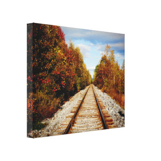 Memories On the Tracks Canvas Print