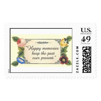Memories Postage Stamp