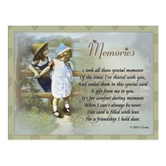 Memories Postcard