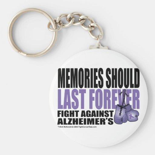 Memories Should Last Forever Key Chain