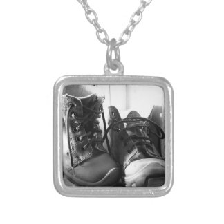 Memories Silver Plated Necklace