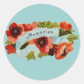 Memories Sticker