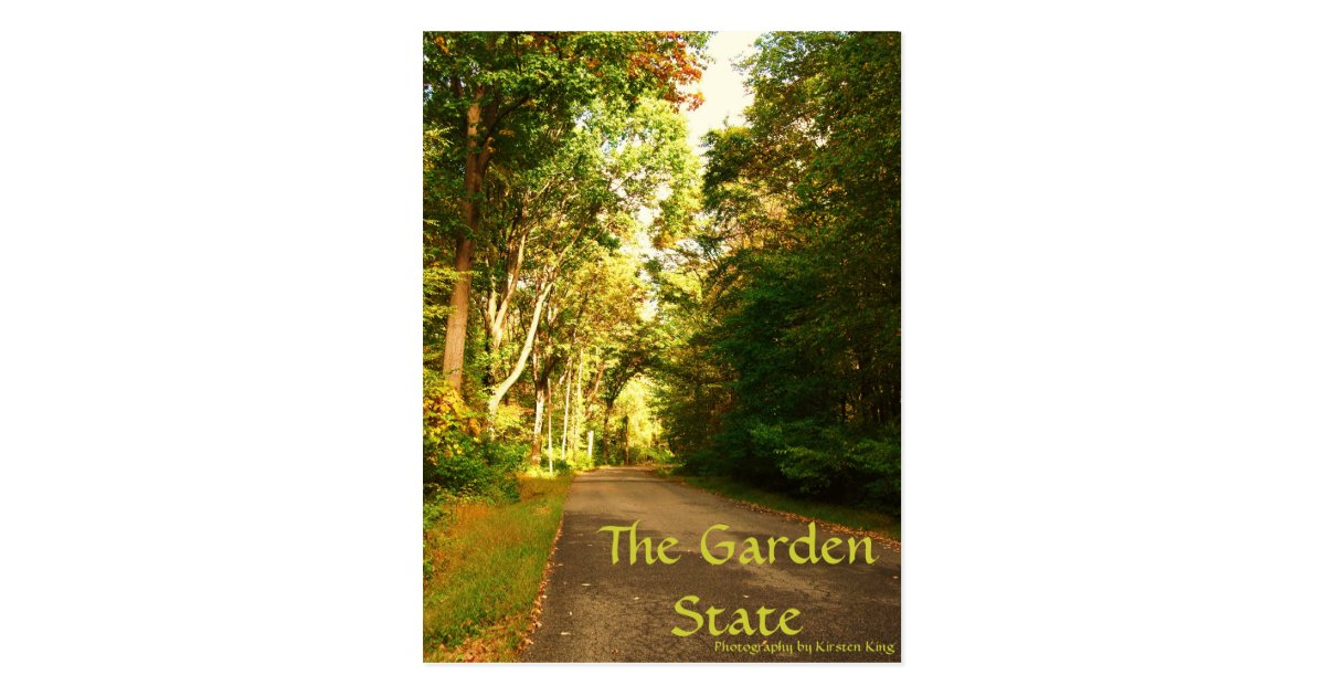 Memory 1 125 The Garden State Photography By Postcard Zazzle