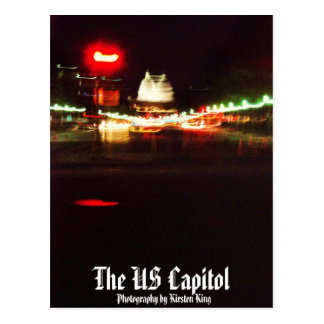 memory 1 139, The US Capitol, Photography by Ki... Postcard
