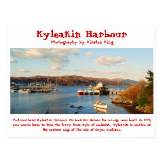 memory 2 078, Kyleakin Harbour, Photography by ... Postcard