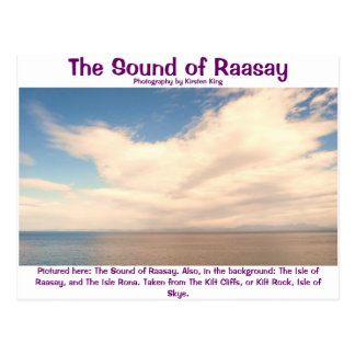 memory 2 128, The Sound of Raasay, Photography ... Postcard