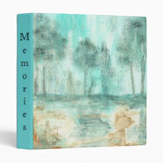 Memory,Abstract Landscape Trees Art Painting Binder