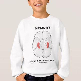 Memory Begins In The Hippocampus Sweatshirt