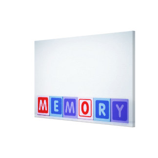 Memory. Canvas Print