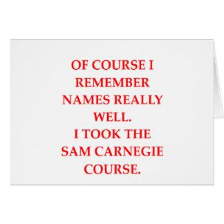 memory greeting card
