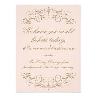 Memory Card | Antique Gold Flourish