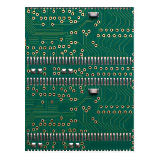 Memory chip postcard