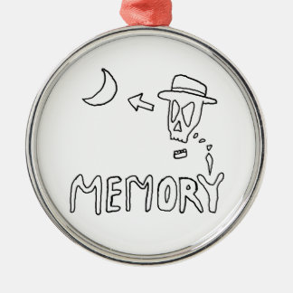 """Memory"" Christmas Tree Ornament"
