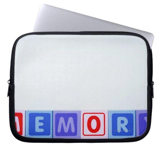Memory. Computer Sleeve