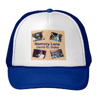 memory cover art trucker hat