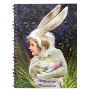 Memory Journal Book Vintage Sweet Rabbit, Rabbit!