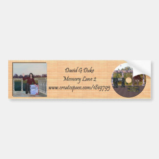 Memory Lane 2 Bumper Sticker