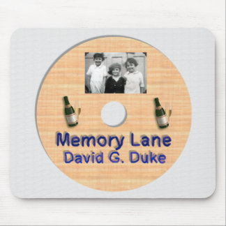 Memory Lane Disk Label Mouse Pad