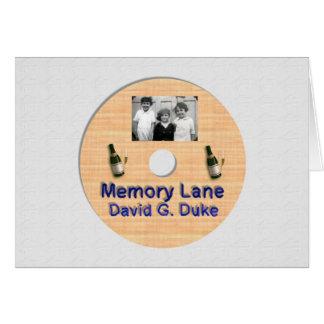 Memory Lane Greeting Card