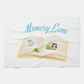 Memory Lane Hand Towels