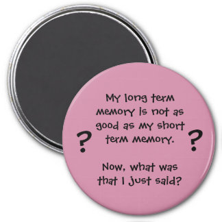 Memory Lapse Magnet