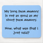 Memory Lapse Mousepad
