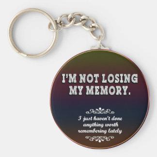 Memory Loss... Keychain