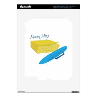 Memory Magic iPad 3 Skin