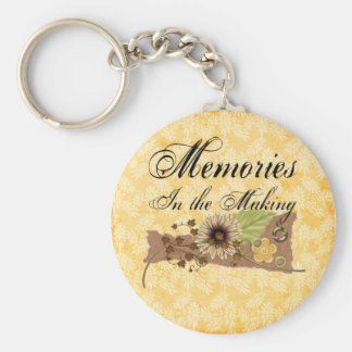 Memory Maker Basic Round Button Keychain