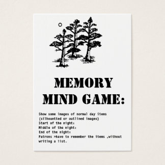 memory mind game-trees business card