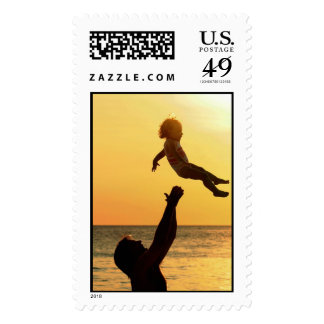 Memory of a Moment Of Joy Postage Stamps