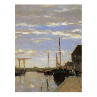 Memory of Haarlem by Johan Hendrik Weissenbruch Postcard