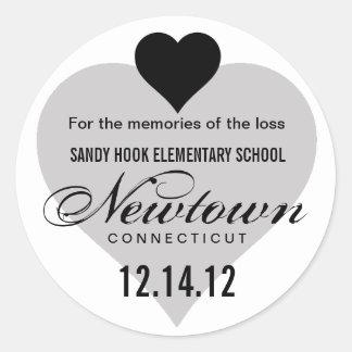 Memory of Newtown Tragedy Sticker
