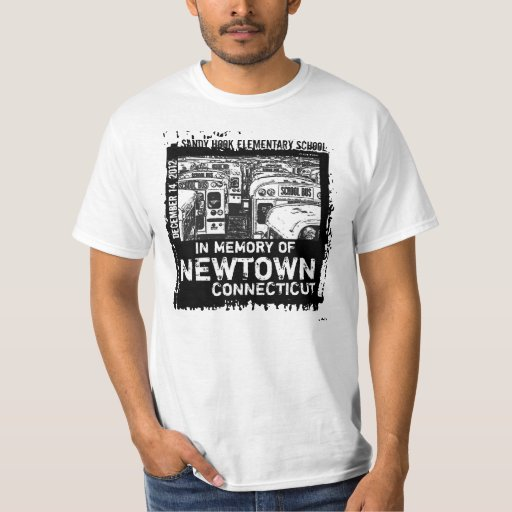Memory Of Newtown Tragedy Tshirt 4