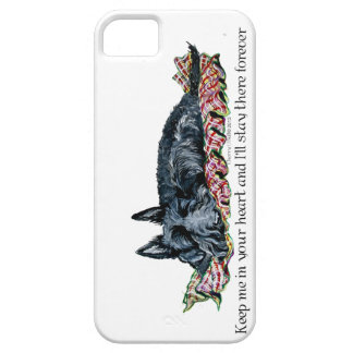 Memory of Scottish Terrier iPhone SE/5/5s Case