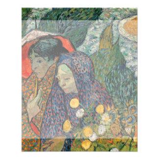 Memory of the Garden at Etten by Vincent Van Gogh Flyer