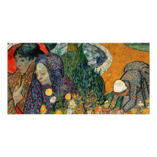 Memory of the Garden at Etten by Vincent Van Gogh Personalized Photo Card