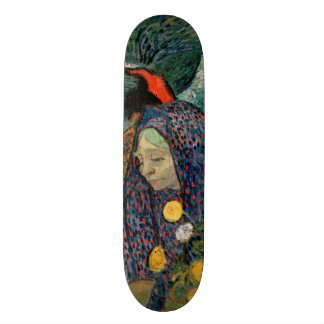 Memory of the Garden at Etten by Vincent Van Gogh Skateboard