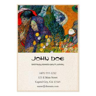 Memory of the Garden at Etten Vincent Van Gogh Business Card Template
