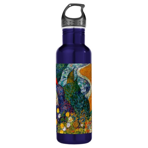 Memory of the Garden at Etten Vincent Van Gogh Water Bottle