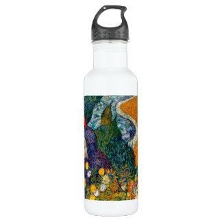 Memory of the Garden at Etten Vincent Van Gogh Water Bottle