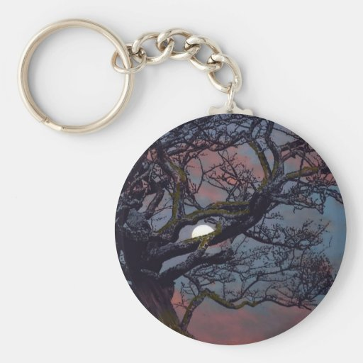Memory of the Moon Basic Round Button Keychain