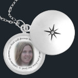 "Memory of You Necklace<br><div class=""desc"">This necklace has a photo that you can change to who"