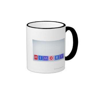 Memory. Ringer Coffee Mug
